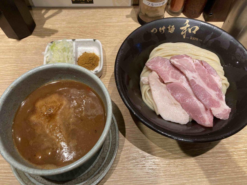 カレーつけ麺 中盛りの画像