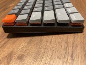 keychron k3 orange keybottom